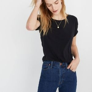 Madewell black basic tee